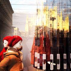 Milano che riflette