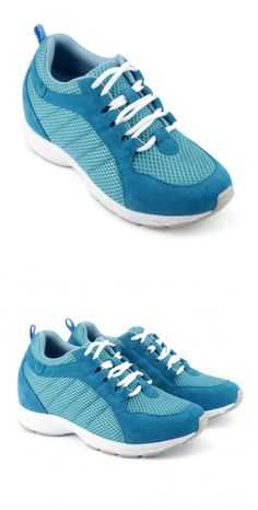 Increased Height: 6.5cm(2.56 inch)(Totally invisible)  Upper Material: Microfiber  Lining Material: Mesh  Outsole Material: Rubber  Insole Material: PU  Occasion: Daily Casual  Shown Color: Blue  Style: Sport  Season: Spring,Summer,Autumn,Winter  Brand: Hesion  Function: Height Increasing  Gender: Woman