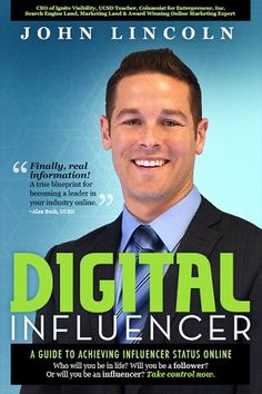 Digital Influencer, Highly Anticipated eBook by John Lincoln Live for Pre-Order Now  https://ignitevisibility.com/digital-influencer-ebook-john-lincoln-pre-order/ by @johnelincoln