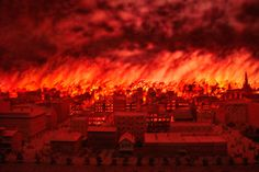 October 8: Today is the anniversary of the Great Chicago Fire and the Peshtigo Fire in Wisconsin in 1871. Have you documented a fire that your ancestor survived - either the loss of a home or business or a whole town being consumed by fire? #familyhistory