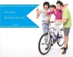Thema de fiets (fietstechniek) voor de groepen 1 t/m 3 - Juf Anja