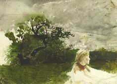 Andrew Wyeth (1917-2009) In the Orchard, 1972