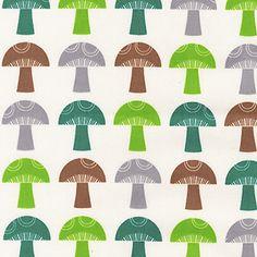 Mushroom Forest ~ To Market To Market @ Sew, Mama, Sew!