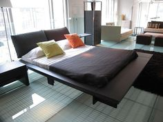 220 Best Casa Cabeceiras E Camas Headborders And Beds Images - Maly-platform-bed-by-ligne-roset