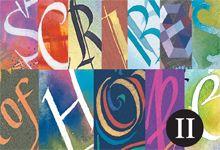 CIVA Traveling Exhibits - Scribes of Hope II Christian Art #CIVA #ChristianArt @Annemie Lathouwers (Christians in the Visual Arts)