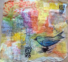 jane lafazio fabric art | Jane LaFazio — Springtime