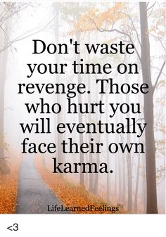 Image result for don't waste your time on revenge those who hurt you