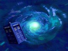 TARDIS Entering Time Vortex
