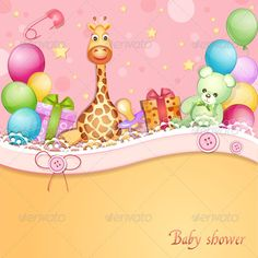 Realistic Graphic DOWNLOAD (.ai, .psd) :: http://jquery.re/pinterest-itmid-1004773298i.html ... Baby Shower Card  ...  balloon, birthday, blue, card, cartoon, celebration, cheerful, child, chocolate, clip, colorful, decoration, design, fun, gift, giraffe toy, happy, illustration, invitation, joy, present, teddy bear  ... Realistic Photo Graphic Print Obejct Business Web Elements Illustration Design Templates ... DOWNLOAD :: http://jquery.re/pinterest-itmid-1004773298i.html