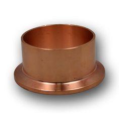 "2"" Tri Clover Compatible AMP Long Ferrule - Copper"