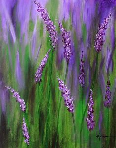"""Lavender Garden"" Painting by Kume Bryant posters, art prints, canvas prints, greeting cards or gallery prints. Find more Painting art prints and posters in the ARTFLAKES shop. Garden Painting, Garden Art, Garden Ideas, Easy Canvas Painting, Canvas Art, Acrylic Canvas, Canvas Ideas, Canvas Prints, Lavender Paint"