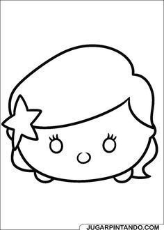 Ariel Face Tsum Tsum coloring pages printable and coloring book to print for free. Find more coloring pages online for kids and adults of Ariel Face Tsum Tsum coloring pages to print. Tsum Tsum Coloring Pages, Disney Coloring Pages, Coloring Book Pages, Printable Coloring Pages, Coloring Pages For Kids, Coloring Sheets, Tsum Tsum Party, Disney Tsum Tsum, Elsa Frozen Dibujo