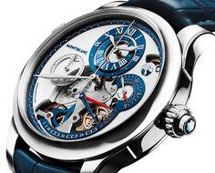 Montblanc Régulateur Nautique timepiece set