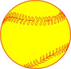 Softball Clip Art