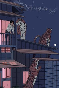 Cassandra Jean on is part of Jungle Animal drawings Big Cats - part Kunst Inspo, Art Inspo, Art And Illustration, Fantasy Kunst, Fantasy Art, Anime Kunst, Anime Art, Pretty Art, Cute Art