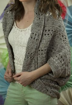 Crochet X Stitch Shrug : Crochet X-Stitch Shrug by the Yarn Yogi