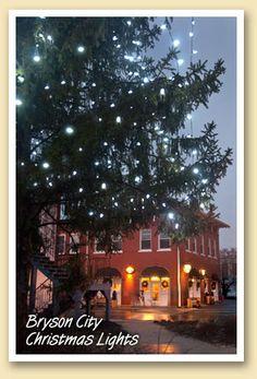 Bryson City Christmas Lights