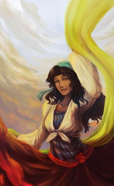 fantasy gypsy paintings  | Gypsy Dance - Bella by ~HaruHikaru14 on deviantART