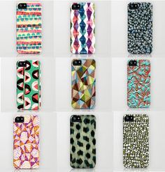 Some Sarah Bagshaw designs as Iphone cases available on Society6