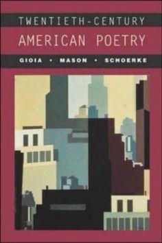 Cover image for Twentieth-century American poetry