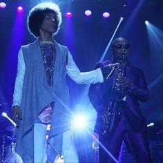 IN THE DARK........... @Prince and @mandersonsax #MERCEDESBENZSUPERDOME IN #NEWORLEANS #LOUISIANA #PURPLESSENCE #FEARTHEFRO #NEWPOWERGENERATION #JULY4 2014 #ESSENCEFEST #3RDEYEGIRL #NPG #RealMusic by #RealMusicians #FUNK #NOLA #PRINCE #NPGHORNZ #SOUL #THEONE #GOAT #ICON #LEGEND #ELECTRIC SHIRT #ART by #3RDEYEBOY picture via HELLOBEAUTIFUL.COM #INEFFABLE #WB WEAR SOMETHING PURPLE O(+> #wHATiSpLECtRuMeLeCtRUm??