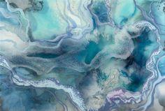 Love this artwork by 'Mitch Gobel Resin Art'. Marbled sea-love. #howardstorage #christmaswishlist