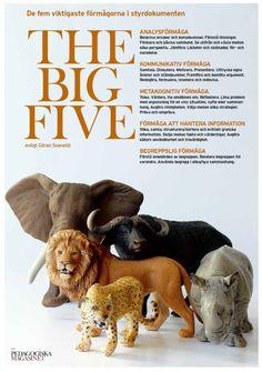 Matematikutveckling i Skara: Förmågorna - The Big Five Big Six, Teaching English, Creative Writing, Preschool Activities, Teaching Resources, Classroom, Teacher, Sinks, Documentary