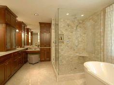 Small Bathroom tile for shower.