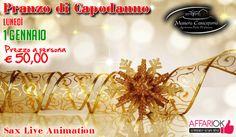 Pranzo Di Capodanno A Masseria Casacapanna
