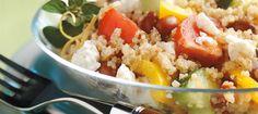 Salade de quinoa à la grecque recette   Plaisirs laitiers