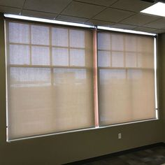 Great looking solar shades for the IT department!!1% because they like their office dark!