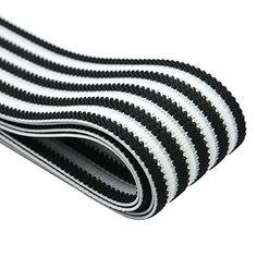iCraft 2-inch Wide Black Jacquard Striped White Elastic B... https://www.amazon.com/dp/B01AWKCOOW/ref=cm_sw_r_pi_dp_x_fIskybVW2NZ2B
