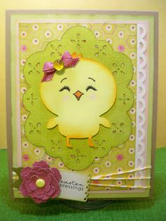 Little Scrap Pieces, Create a Critter 2, Easter blessings