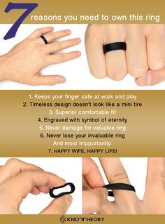 7 reasons to own a silicone wedding ring see the rings on amazon love - Wedding Rings Amazon