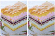 "Пляцок ""Чудовий"" з польского сайту : Ням ням за 5 хвилин Baking Recipes, Cake Recipes, Homemade Cakes, Confectionery, International Recipes, Copycat Recipes, Food Photo, Vanilla Cake, Cake Decorating"