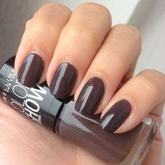 Maybelline Colorshow By Colorama Nagellack, Farbe: 549 Midnight Taupe