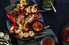 Find the recipe for Shellfish Mixed Grill and other lobster recipes at Epicurious.com