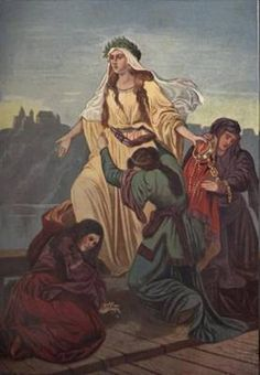Princess Wanda   Queen of Poland (8th century)
