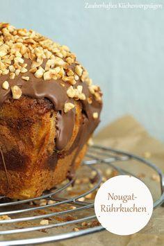 Zauberhaftes Küchenvergnügen: Rührkuchenqueens: Marmorierter Nougatrührkuchen