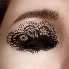 eye art...fabulous.