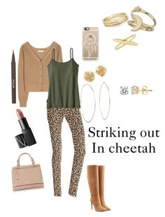"""""""Striking out in Cheetah"""" by campanellinoo on Polyvore"""