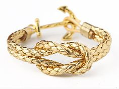 Anchor Bracelet - The Fortunate Sailor - by Kiel James Patrick