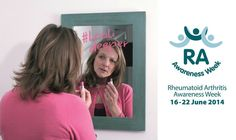 RA Awareness Week 2014 Let's be vocal and make RA visible! Arthritis Society, Rheumatoid Arthritis Awareness, June 16, Let It Be, How To Make, Link, Health, Salud, Health Care