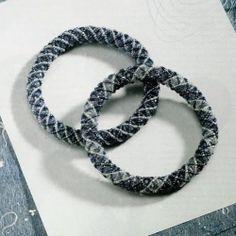 gray beaded bracelets