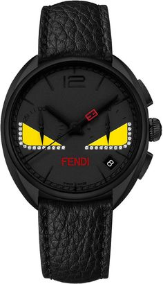 1f8e18e3d01 Fendi Timepieces 40mm Ladies  Monster Eyes Chronograph Watch