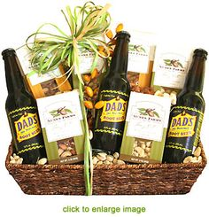 Image detail for -Nuts About Dad Gourmet Gift Basket