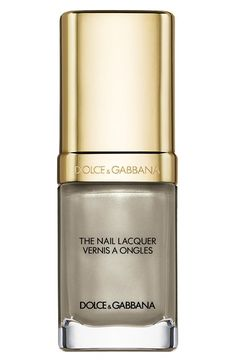 Dolce&Gabbana Beauty 'The Nail Lacquer' Liquid Nail Lacquer in Platinum
