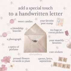 Pen Pal Letters, Love Letters, Letters Mail, Snail Mail Pen Pals, Snail Mail Gifts, Envelope Art, Handwritten Letters, Diy Décoration, Happy Mail