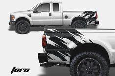 Real Trucks Use Diesel Window Decal Powerstroke Truck F250 Sticker UNIVERSAL
