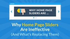 What's Replacing The Home Page Slider (And Why It Should)   LeadPages